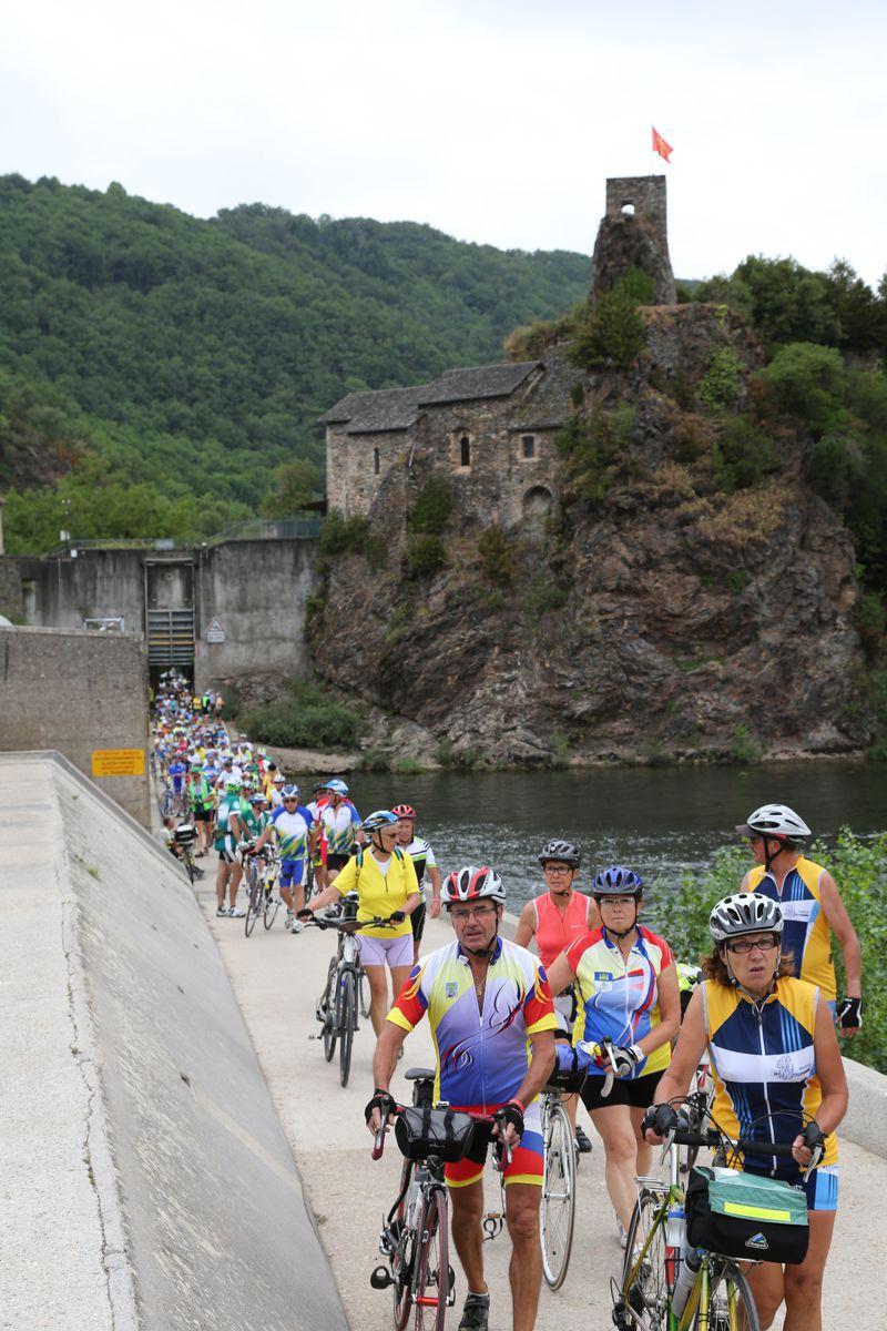 SF Albi 2015 - Ambialet, franchissement du barrage