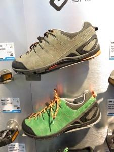 Chaussures, SH-CT 80 et pour cales automatiques avec semelle souple afin de concilier la marche et le vélo.