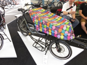 Avec ce joli sac, transformez votre tandem Pino en « cargo bike » !