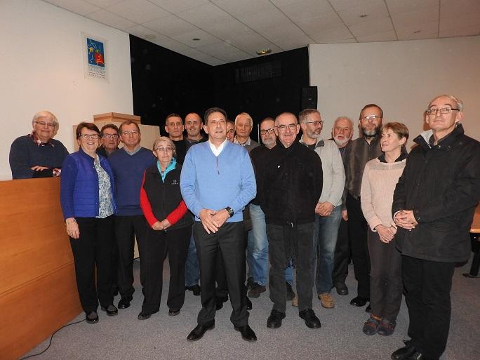 Photo des membres du COREG Bretagne