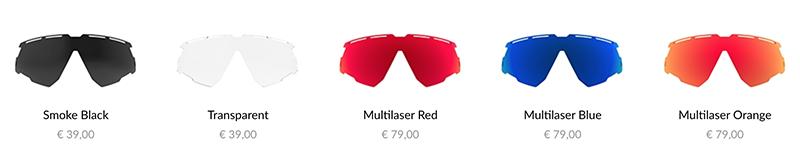 05b31907569 ... il est possible de les changer très simplement pour mettre des verres  teintés que Rudy Project appelle « Multilaser » et qui pourront se  coordonner à ...