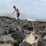 Recycling Trip:collecte sur une plage du Cap Vert