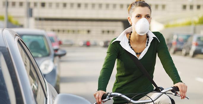 masque anti pollution velo ffp3