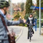 Faire du vélo améliore l'équilibre