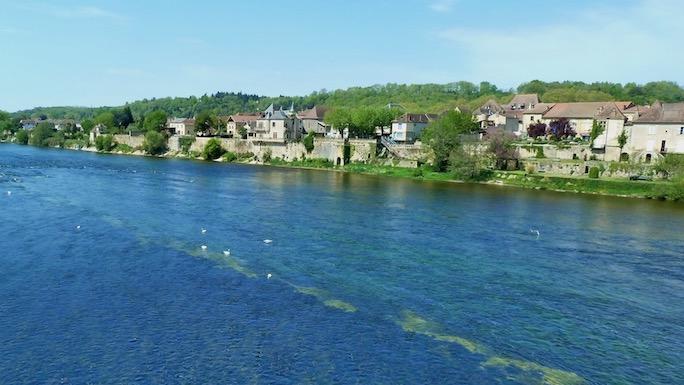 La Dordogne à Lalinde.