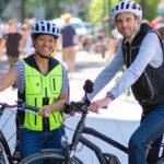 B'safe : gilet airbag pour cyclistes
