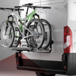 Une caméra de recul pour porte-vélos