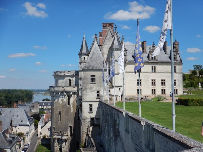 Le château d'Amboise. Crédit : Pixabay