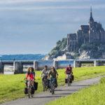 Le Mont-Saint-Michel à vélo, c'est possible!
