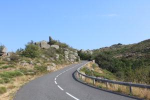 Route chaos granitiques. Crédit A.Z CDT48
