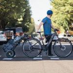 Remorque vélo Burley Travoy pour tous les déplacements à vélo en ville