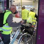 Une première victoire pour le transport des vélos dans les trains!