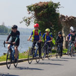 En Pays Basque, journée de rencontre entre jeunes cyclotouristes