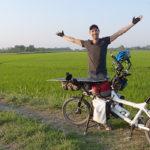 Jérôme Zindy, un voyageur à vélo engagé