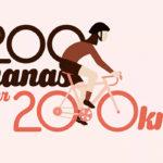 200 nanas sur 200 km, c'est aujourd'hui!