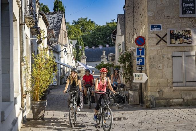 Azay-le-rideau-Indre-à-vélo