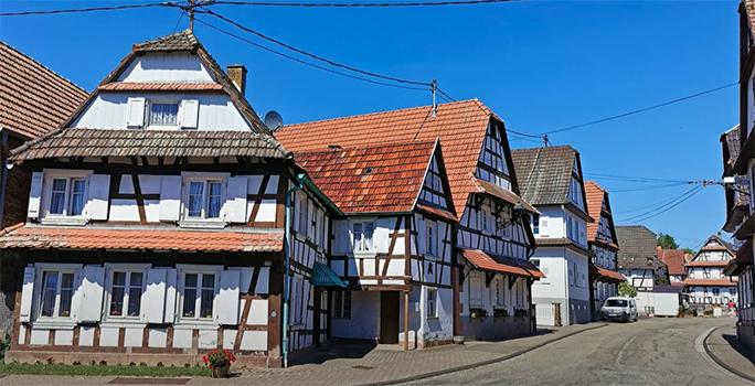 Hunspach en Alsace