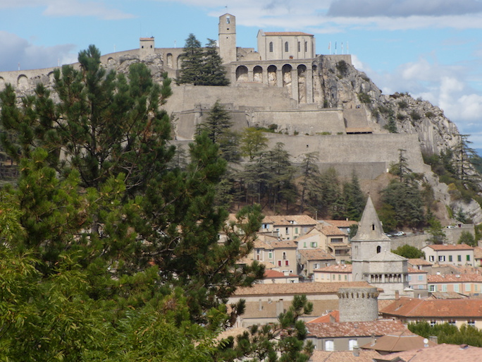 Sisteron. Crédit photo : Gérard Pliquet