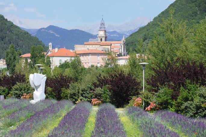 Vue générale de Digne -les-Bains. Crédit photo: Cyrille de Villele